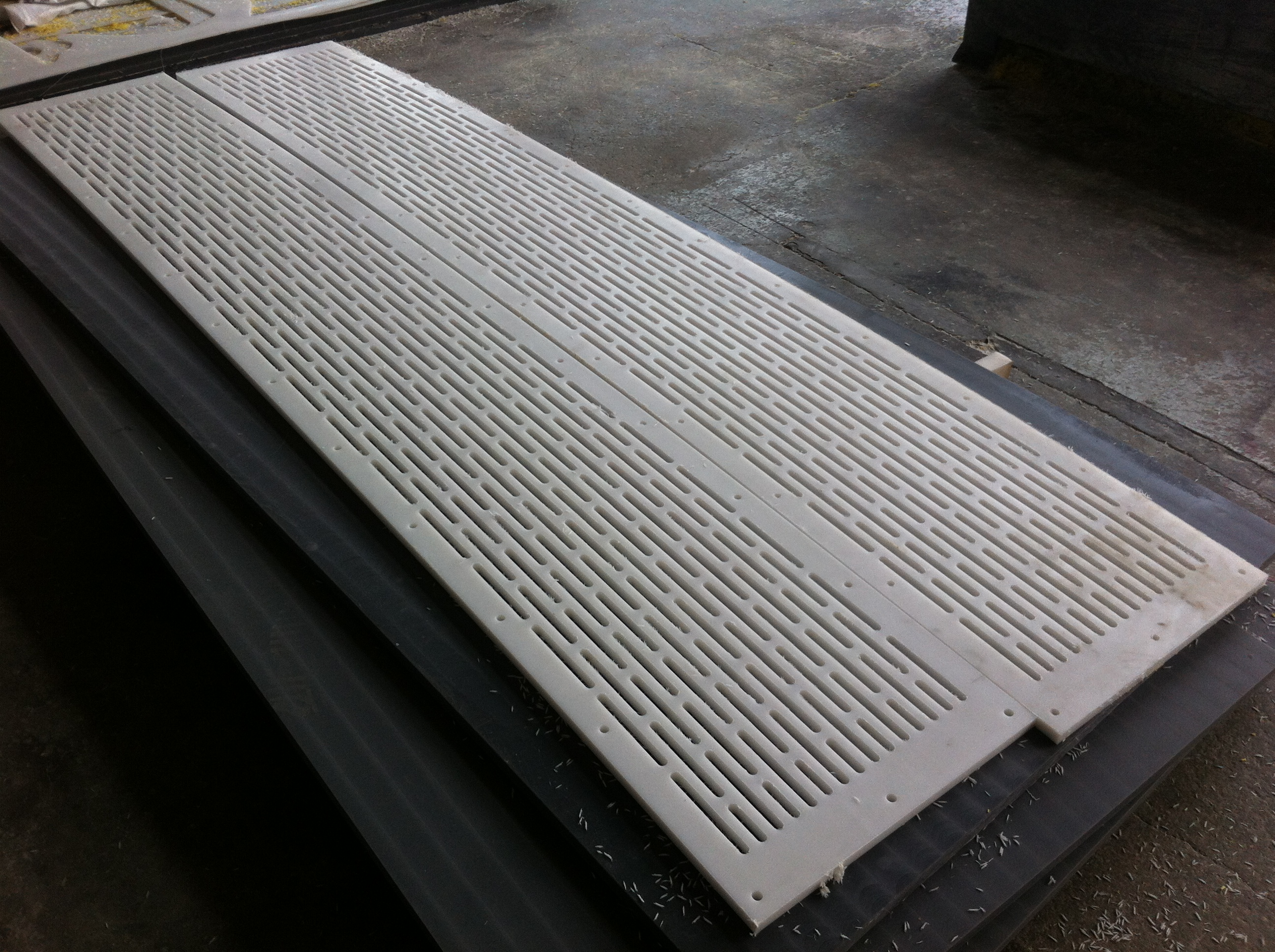UHMWPE Uhle box blades for paper industry