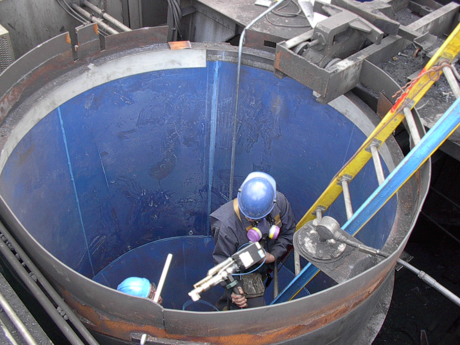 Coal bunker anti-sticking blocking liner (UHMWPE sheets)