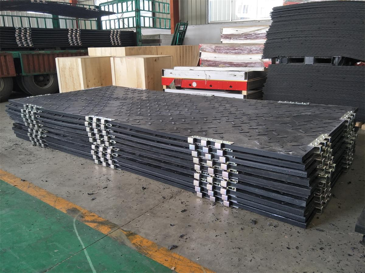 Heavy Duty Ground Mat 4500x2000x50mm for Construction