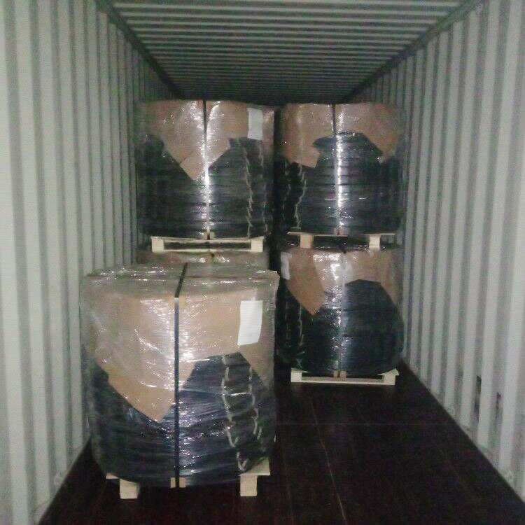New Big Crane Outrigger Pads Diameter 1000x60mm Load into 40ft Container