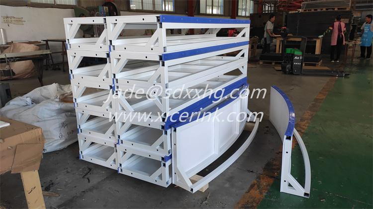 NEW design strong floorball rink board hockey dasher board