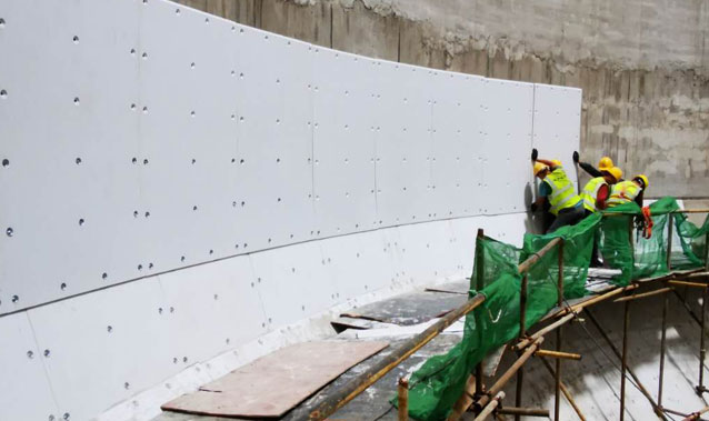Hundred Sets Xinxing UHMWPE Bunker Lining Install