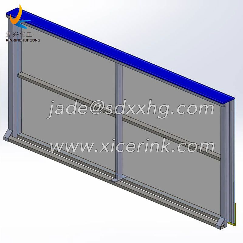 Football Dasher Board Rink Backyad Wall Board