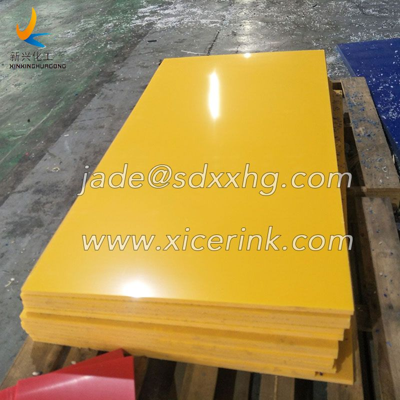 HDPE100 Plate White HDPE Plastic Sheet Welding Plastic Board