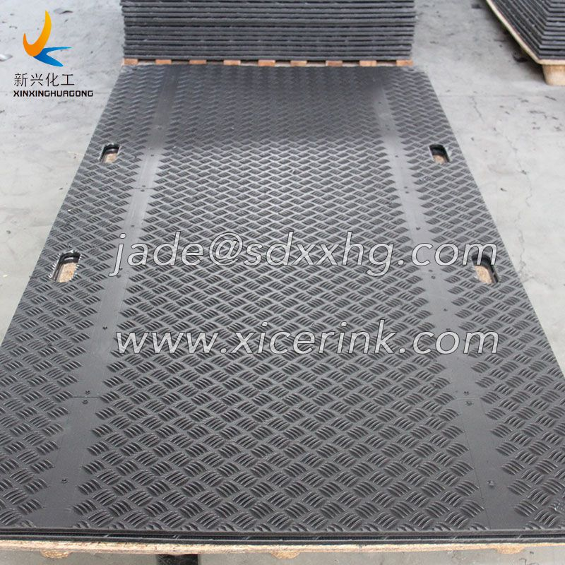 HDPE Ground Protection Mats Heavy Duty Road Way Grass Cover Mats