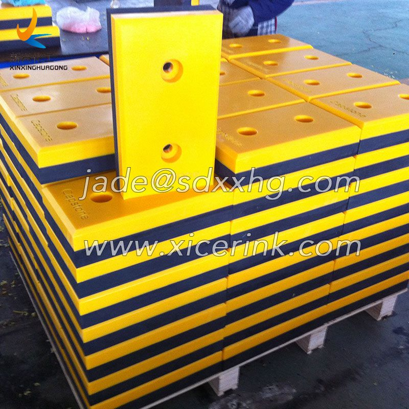 UHMWPE and Rubber Loading Bay Dock Bumpers