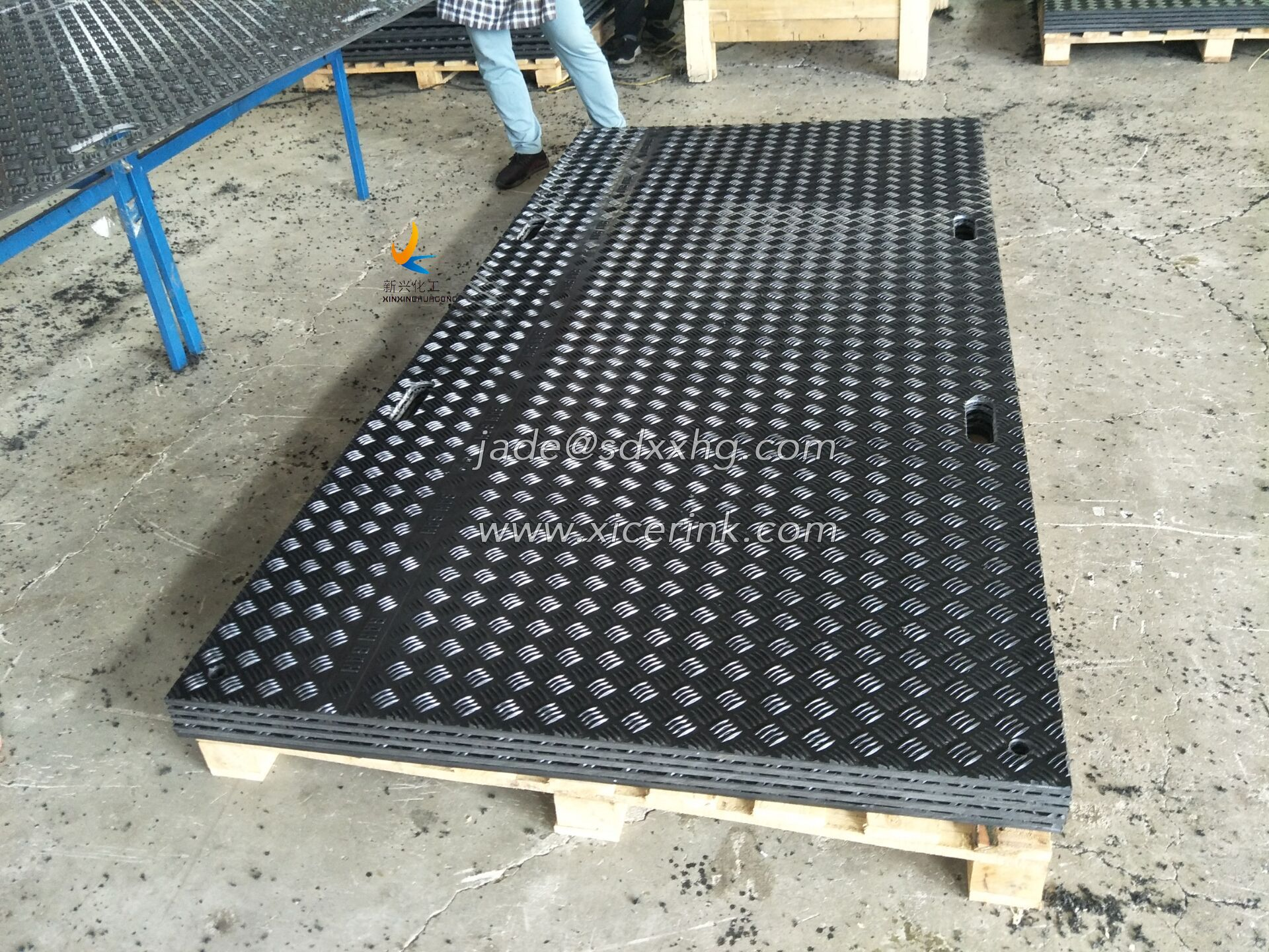4x8ft Composite Polymer Mobile Road Plates