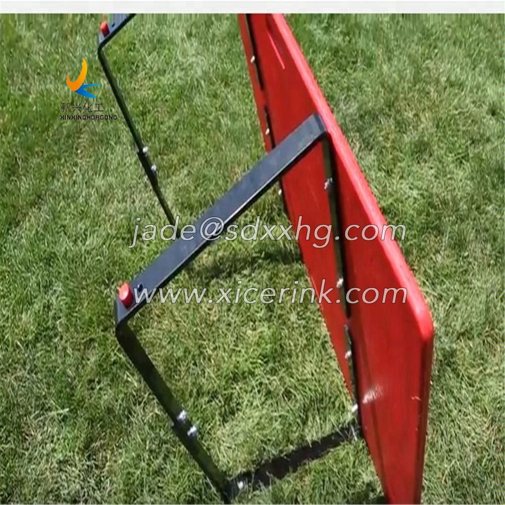 HDPE Plastic soccer rebounder board Football training equipment China manufacturer