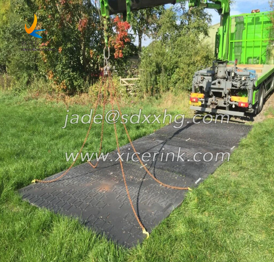 HDPE Plastic Ground Protection Mats And Heavy Duty Mud Ground Mat