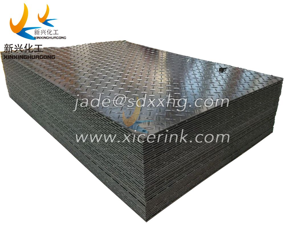 hdpe protect mat/protect ground cover mat/hdpe plastic track running mat