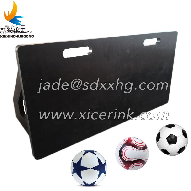 Football rebounder training board HDPE sheet