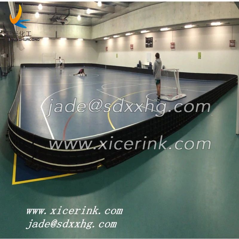 20x40m ice hockey floorball rink board