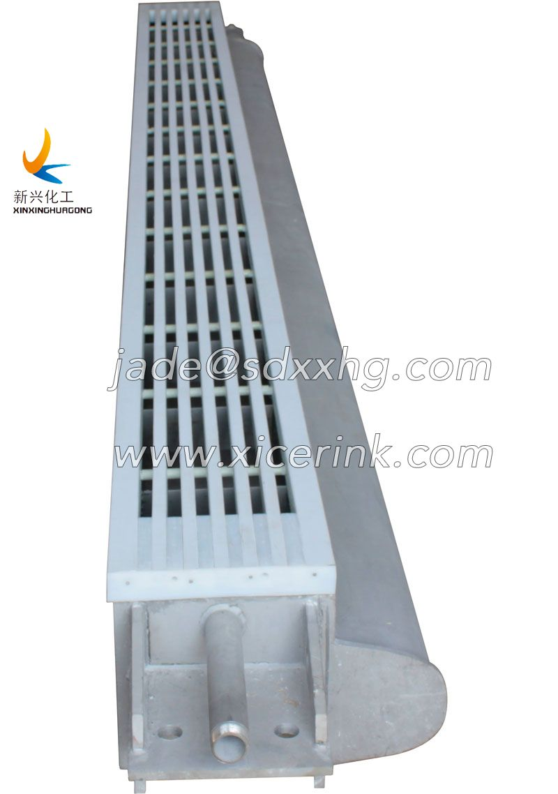 UHMWPE for paper machine vacuum box