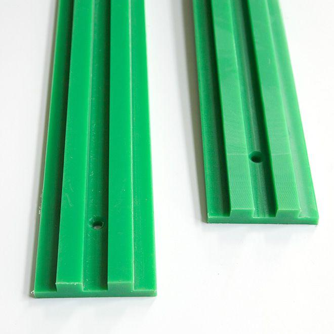 high wear resistance PE1000 Conveyor plastic wear strips and profiles PE1000 wear strip