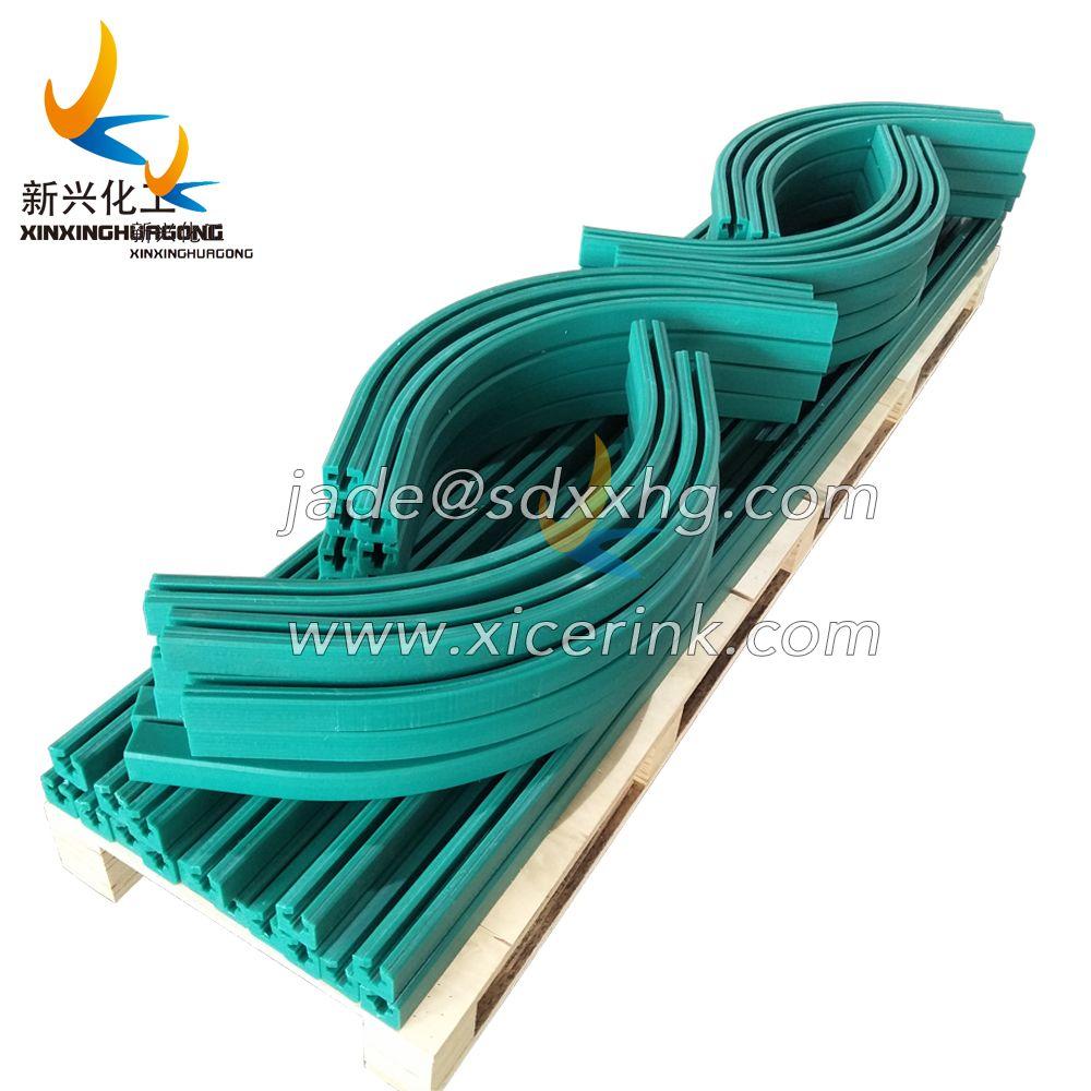 UV-Resistance, Virgin Plastic Placa UHMWPE 1000 Enginnering Wear Strip, Self Lubricating, Conveyor Wear Strips