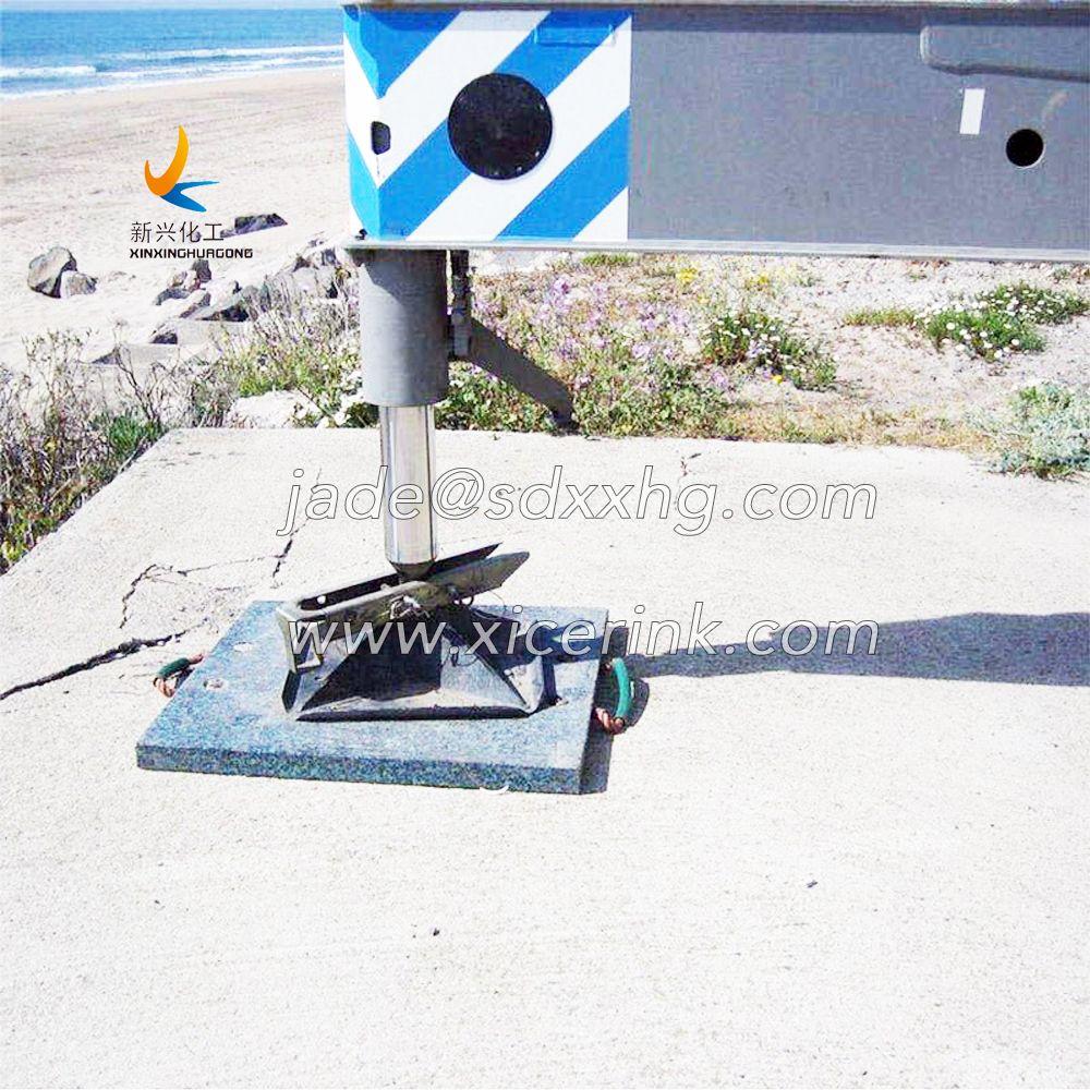 crane outrigger pads uhmwpe outrigger mats
