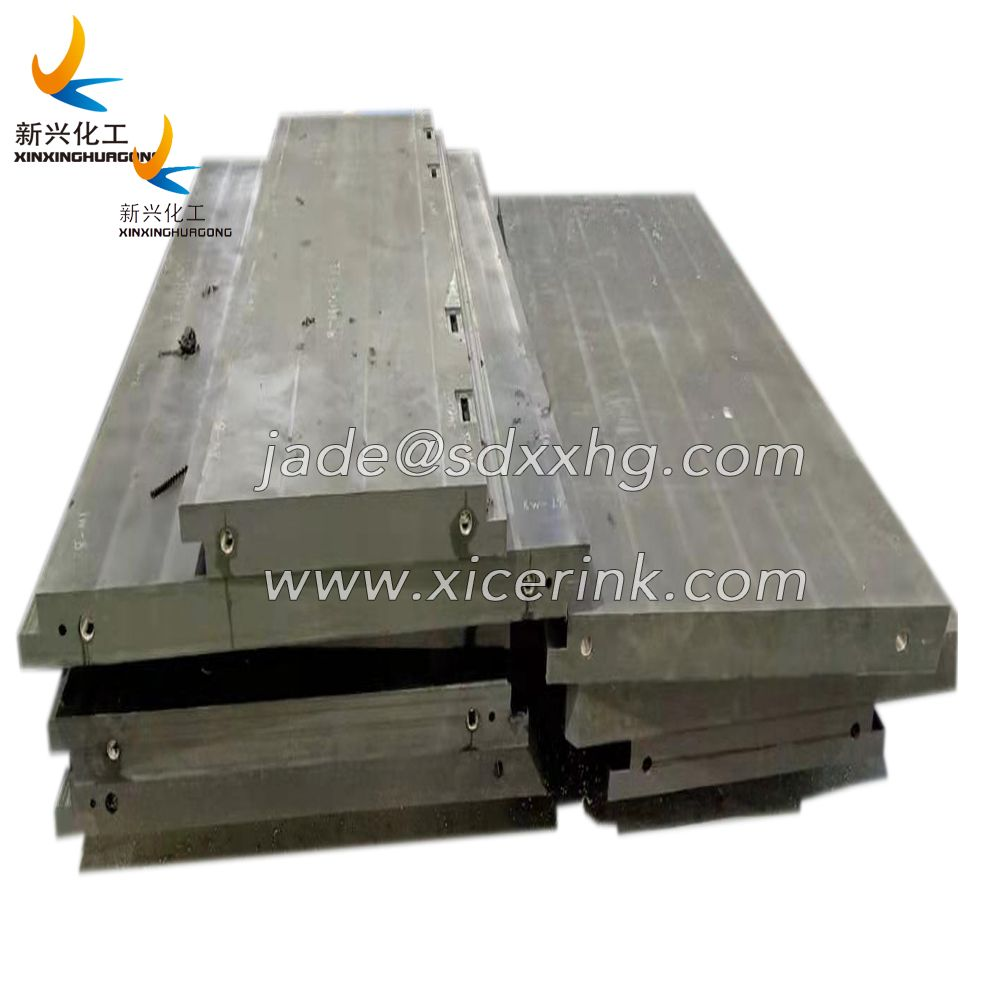 uhmwpe boron board for hospital black borated polyethylene sheet radio shielding pe panel