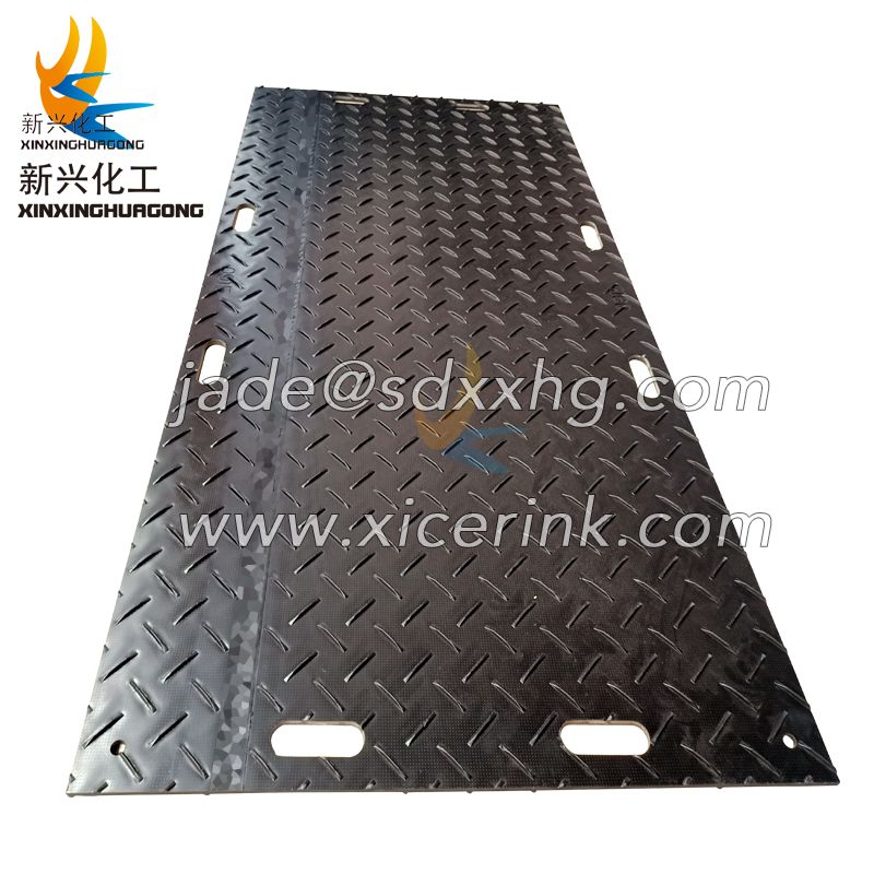 Lightweight ground protection mats and pathways