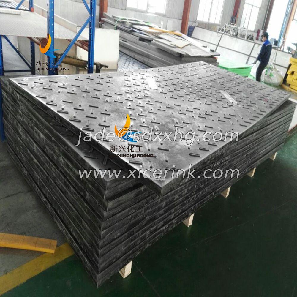 hdpe polyethylene excavators road way mats/ground protection mats