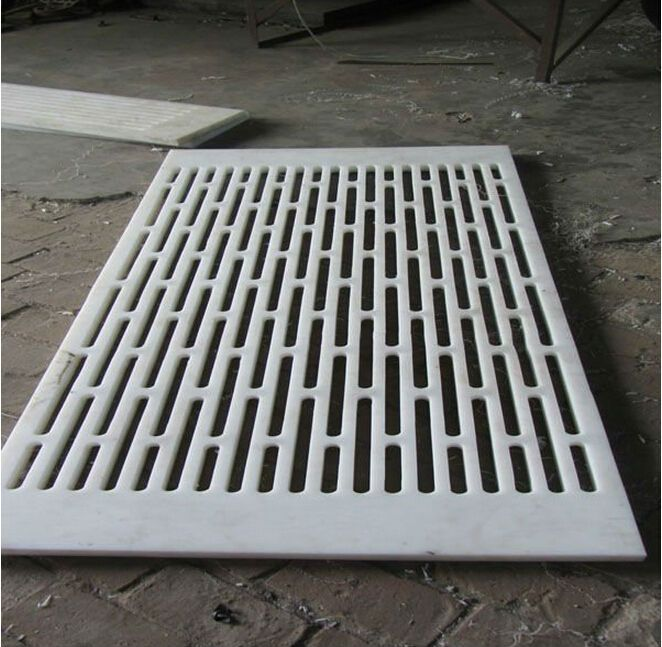 UHMWPE Suction box cover on dewaterig elements