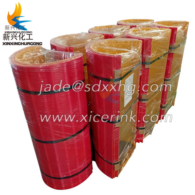 Steel mixing machine use UHMWPE lining board wear-resistant anti-stick material