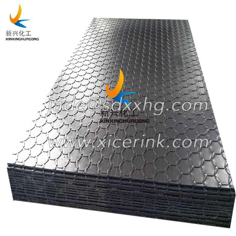 HDPE ground protection mat manufacture hdpe plastic sheet