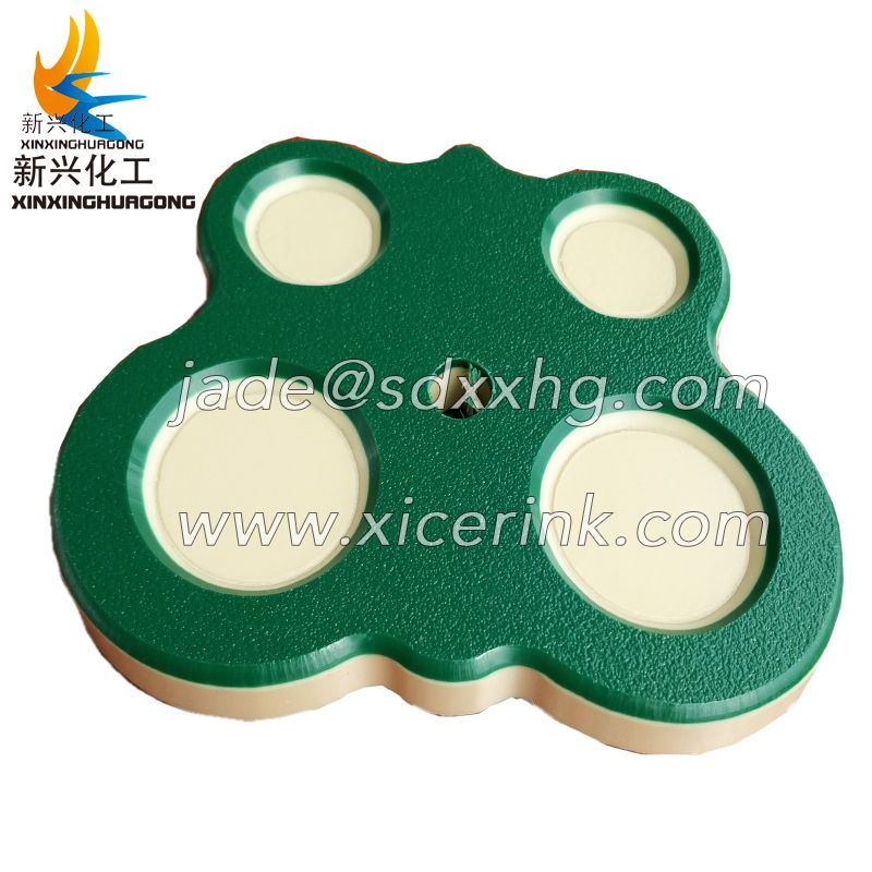 double color HDPE boards/dual color 3 layer HDPE panel/ HDPE double color plastic sheet