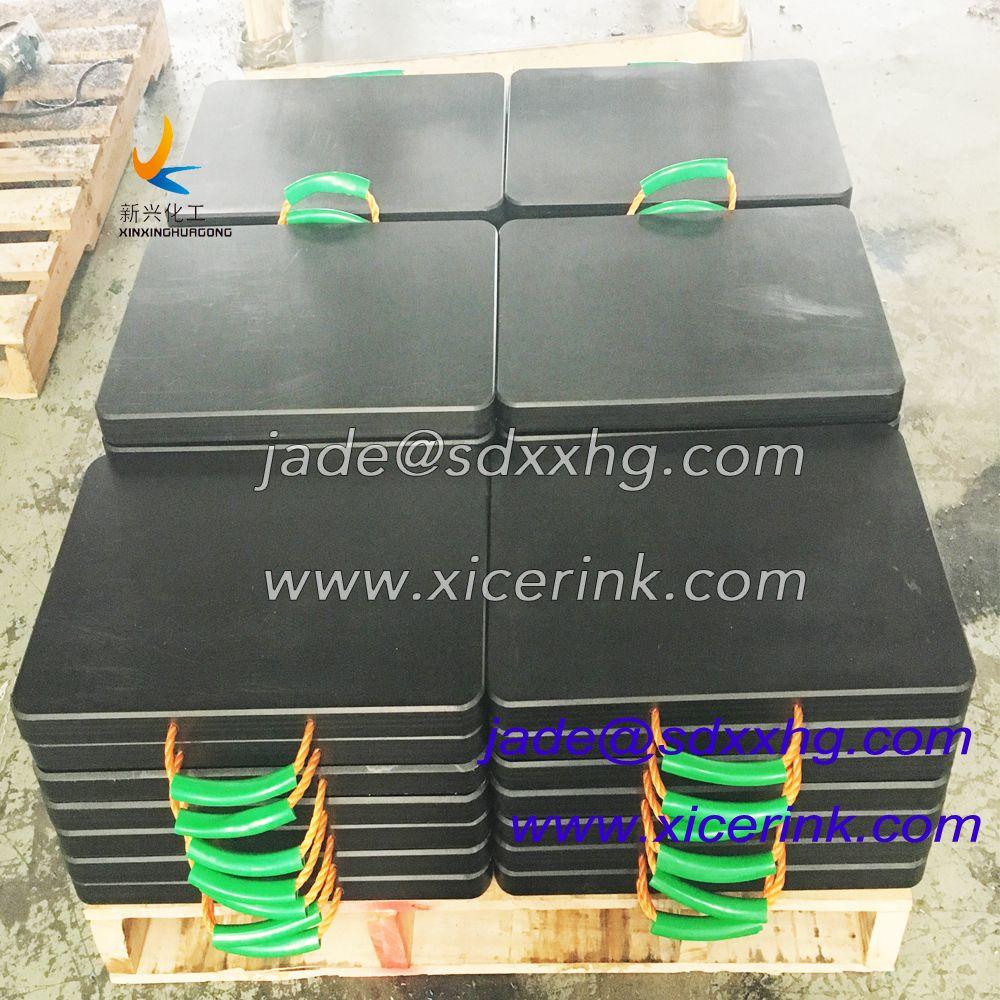Equipment Temporary high quality crane safety tech outrigger pads