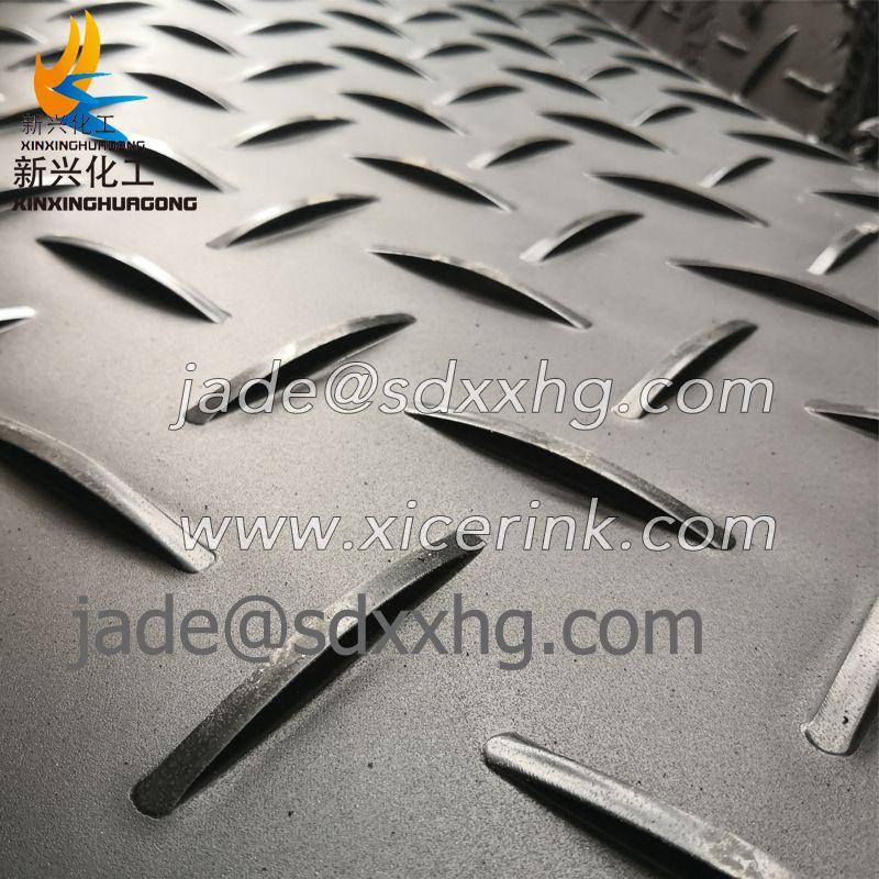 slip-resistant heavy duty 1/2″ thick 100% polyethylene mats