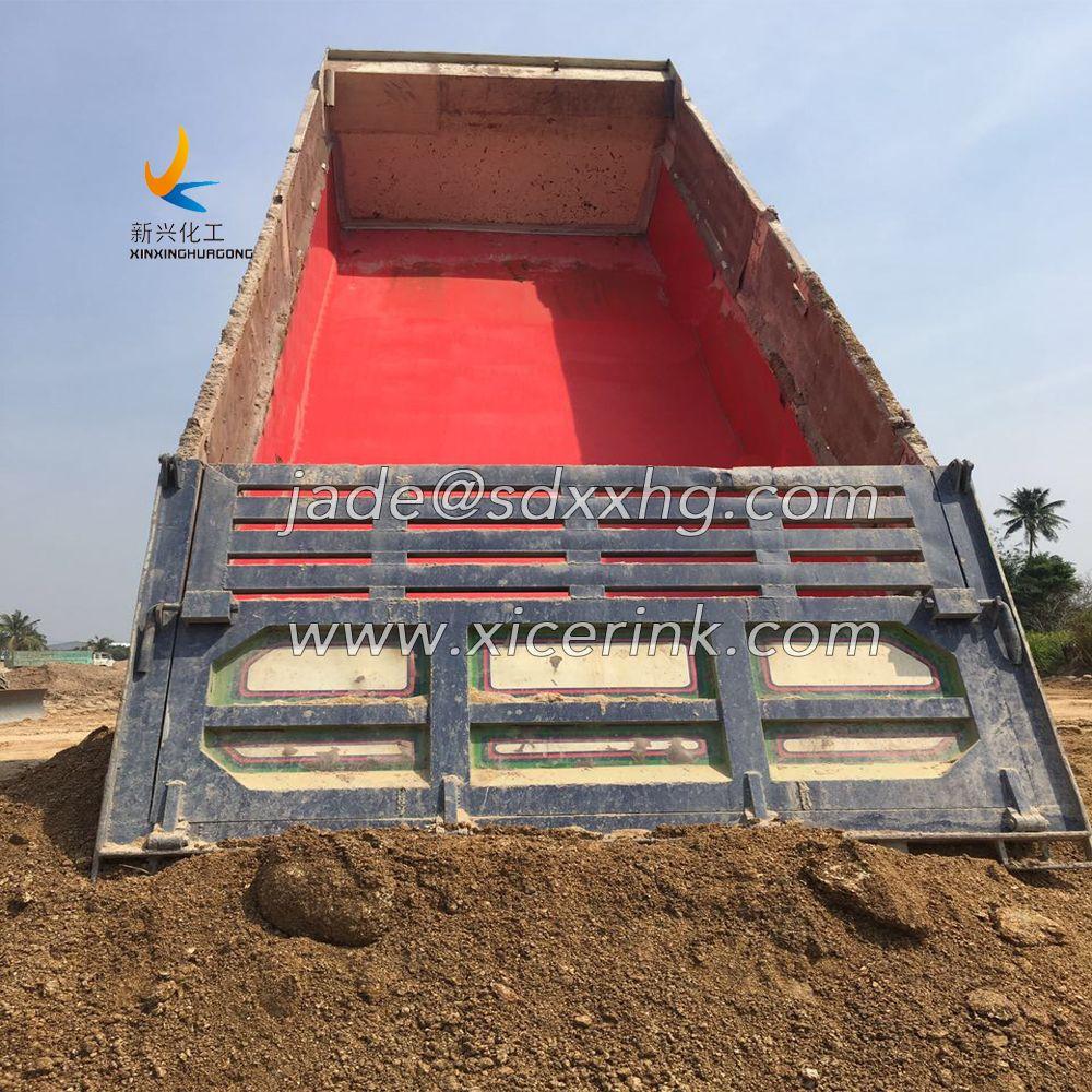 Polymer wear resistance UHMWPE sheet for truck liner