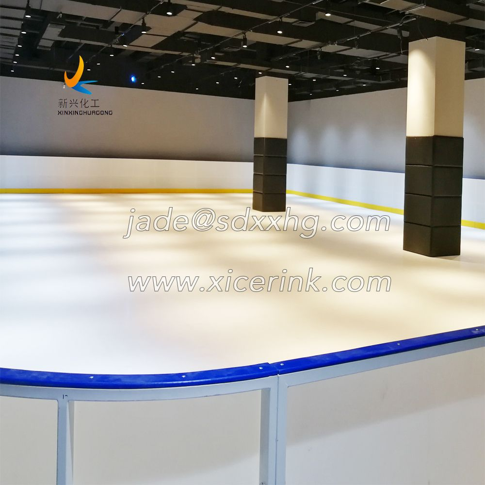 Factory wholesale low price artificial ice rink/synthetic ice