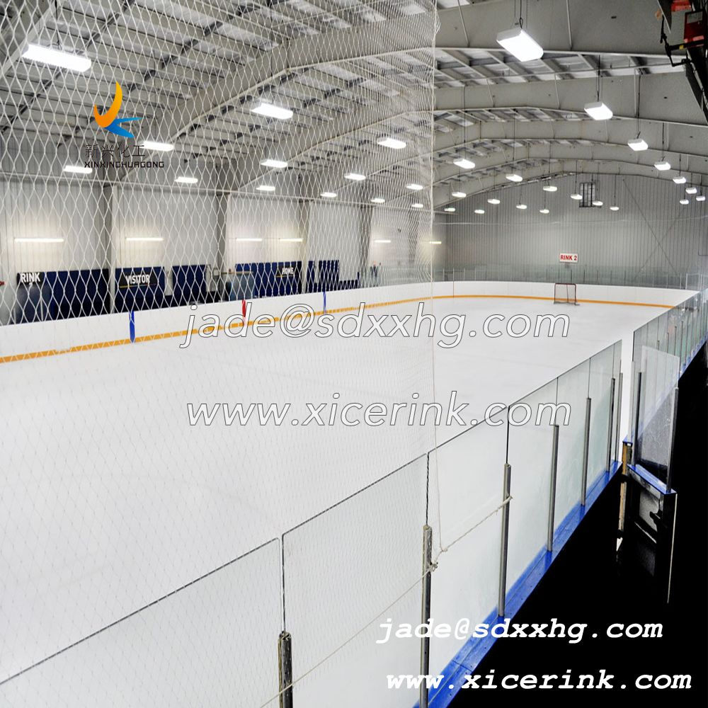 Customizable Colors PE and UHMWPE Durable Synthetic Ice Rink Board for Various Ice Skating Places