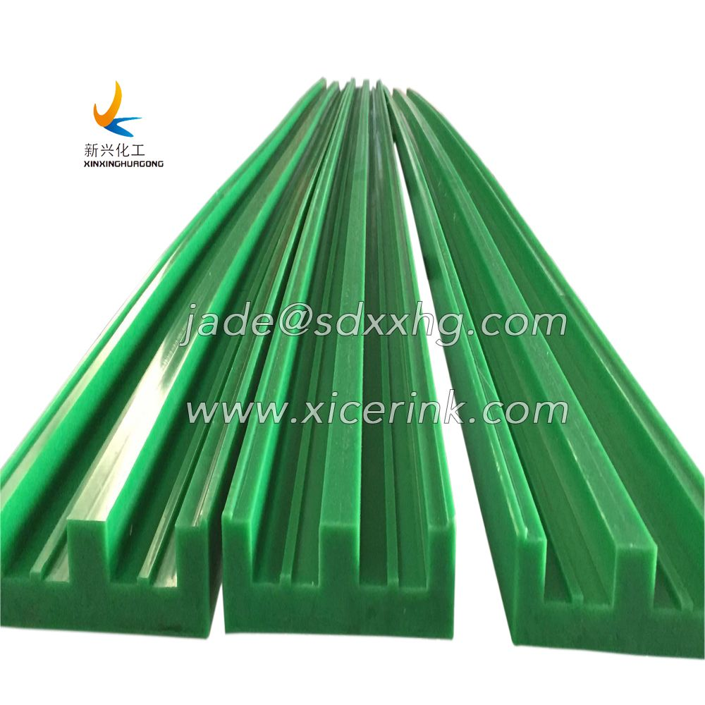 UHMWPE Plastic Chain Guide Rail
