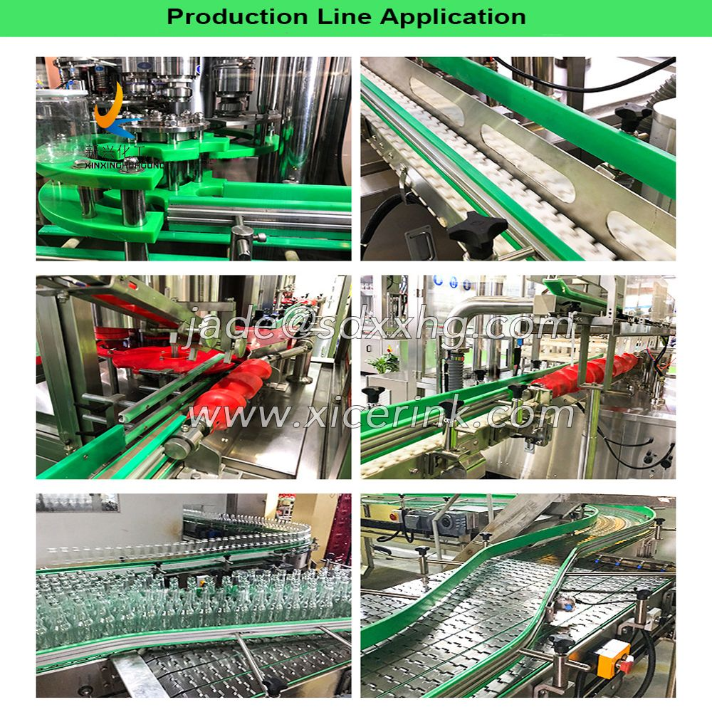 GREEN PLASTIC UHMW WEAR RESISTANT CHAIN GUIDE RAILS