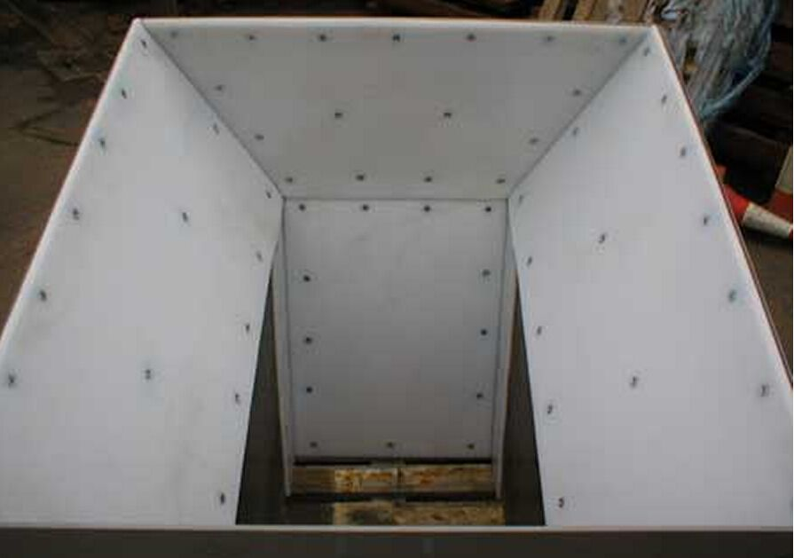 UHMWPE Wear-resisting lining board for coal chute