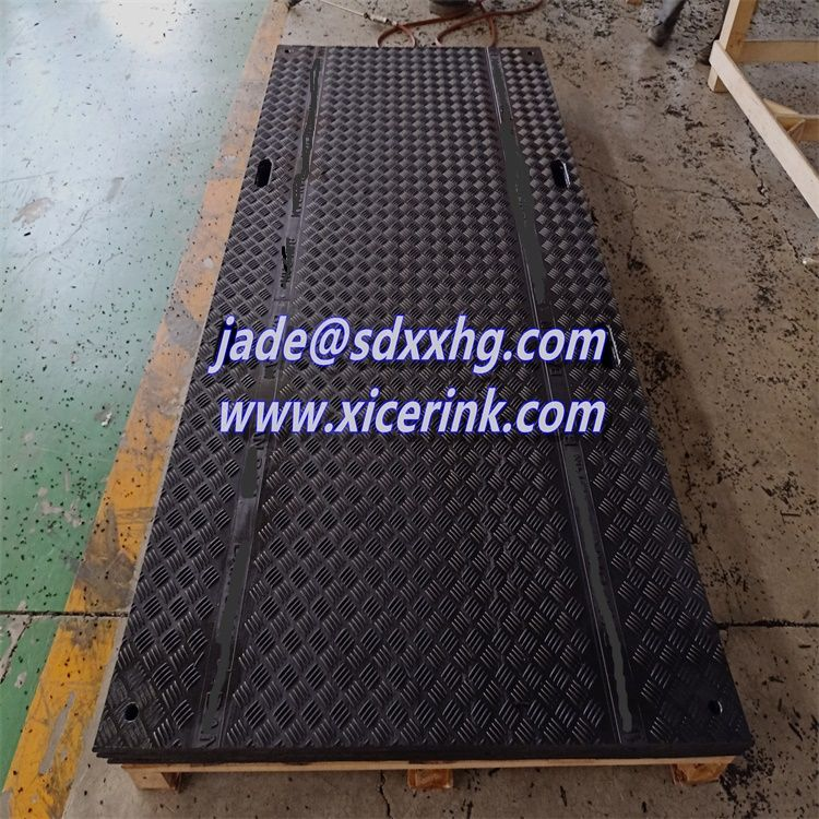 Temporary Grass Protection Carpet Mat/Plastic Road Plate Plastic Tear Drop Plate/Portable Access Mat HDPE, HDPE Good Road Plate