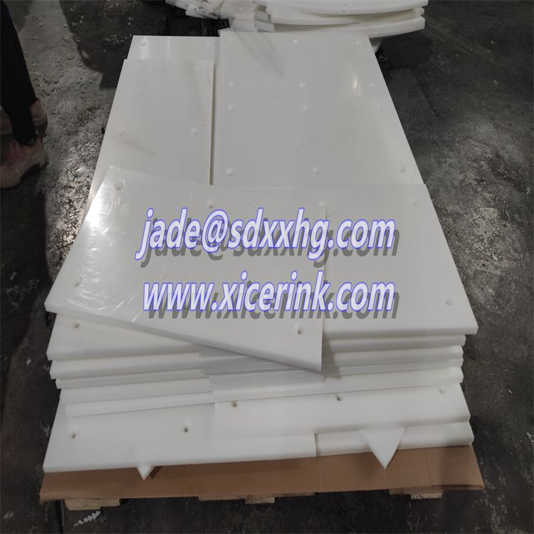 Polymer polyethylene wear-resistant lining board for coal chute