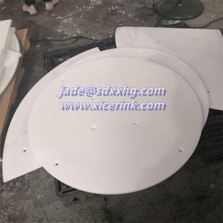 color plastic UHMW PE1000 sheet for Cylinder liner