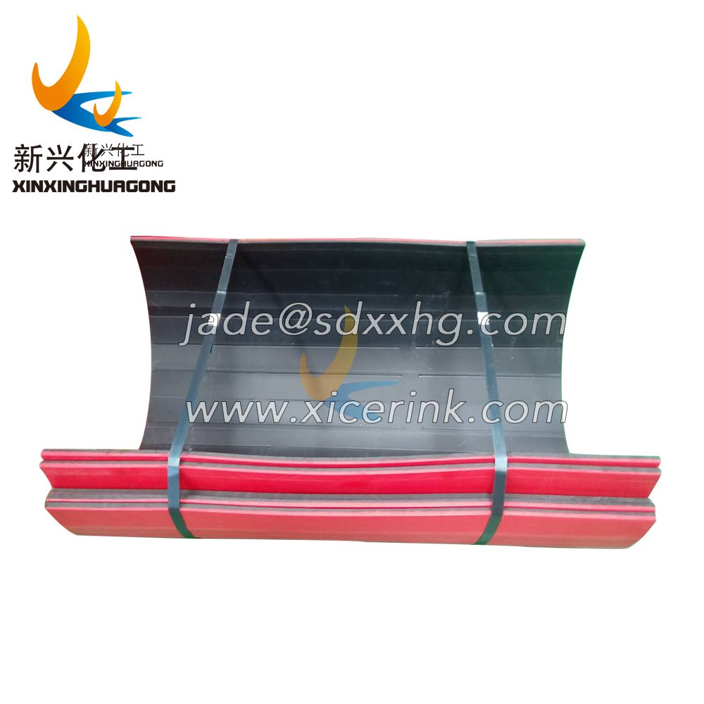 Screw conveyor lining board A polymer polyethylene wear-resistant lining board 螺旋输送机内衬板A高分子聚乙烯耐磨衬板