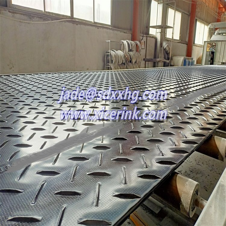 Variety Color plastic Track Mat Heavy Duty Ground Protection Mats