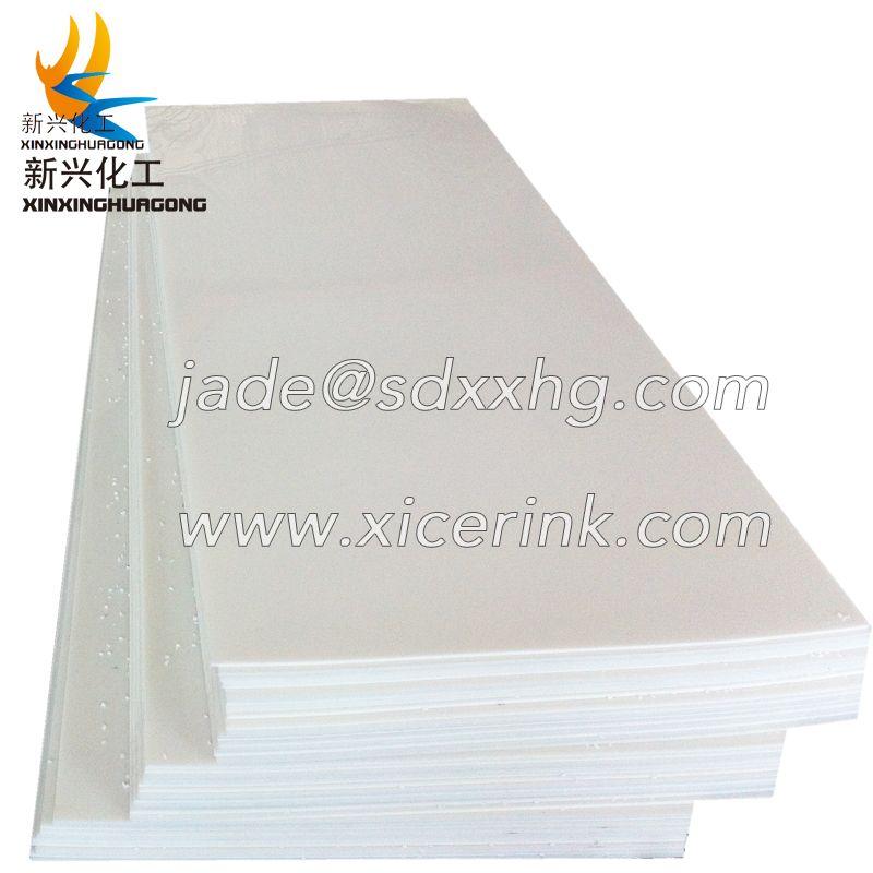 Natural thick Polypropylene PP Plastic Sheet Plate