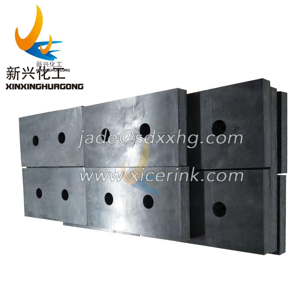 UHMWPE block PE 1000 UHMW production plastics rubber stock